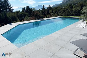 APF fabricant de revêtement d'étanchéité PVC pour piscine