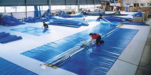Extension de l'activité couvertures isothermiques et filtrantes